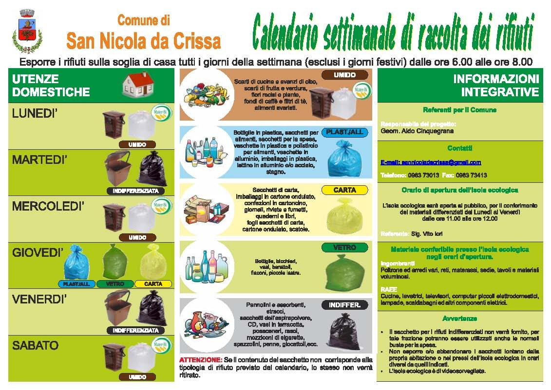 San Nicola Calendario.Home Comune Di San Nicola Da Crissa